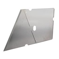 2-Piece Side Panel, Raised Rail Left Side