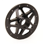 Stallard Chassis Forged 27 Spline 10 Inch Rear Wheel Center, Black
