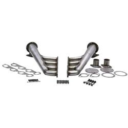 Big Block Chevy Lake Style Headers, Plain Steel Finish