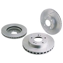 Garage Sale - Honda Civic Power Slot Brake Rotors, Front
