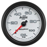 Auto Meter 7821 Phantom II Mechanical Oil Pressure Gauge, 2-5/8 Inch