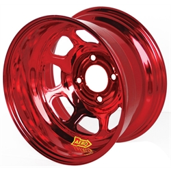 Aero 31-984240RED 31 Series 13x8 Wheel, Spun, 4 on 4-1/4 BP 4 Inch BS