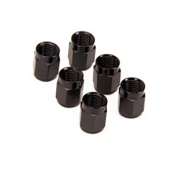 ALuminum Tube Nut Coupler, -3 AN, 3/16 Inch, 6/Pack
