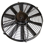6 Volt Electric Radiator Cooling Fan-16 Inch Dia. Push/Pull-10 Blade