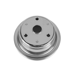 1969-85 Small Block Chevy Single Groove Lower Pulley, Long Water Pump
