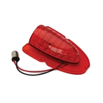 1954 Chevy Red LED Upper Tail Light Lens