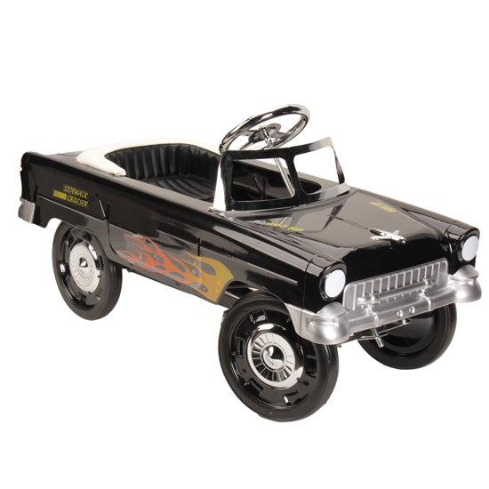 1955 Black With Flames Chevy Pedal Car Ebay