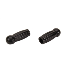 Ball End Grips for 5/8 Inch Handlebar, Black