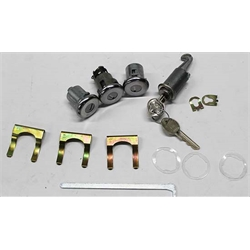 Classic Auto Locks CL128A Lock Kit w/Original Key,Camaro/Firebird/Nova
