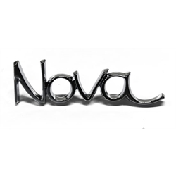 OER Front Fender/Rear Quarter Panel Emblem for Nova