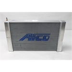 Garage Sale - AFCO 80133N Double Pass Racing Radiator-16 Inch Height-1.25 Inch Inlet
