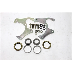 Garage Sale - Basic Disc Brake Kit, 1969-77 GM Caliper, Stock Ford Spindle, 5on4-3/4