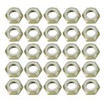 Speed Fast Aluminum Nylock Half Nuts - Pack of 25