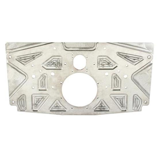 Small Block Chevy Aluminum Rear Motor Plate