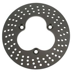Speedway Front Aluminum Drilled Brake Rotor - 10.125 x .312 Inch
