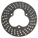 Speedway Front Aluminum Drilled Brake Rotor - 10.875 x .312 Inch