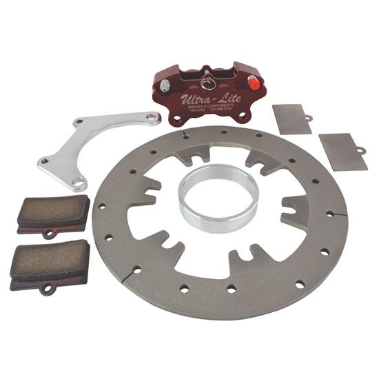 Sprint Car Left Rear Brake Kit with Titanium Rotor