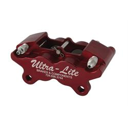Ultra Lite Brakes 140-2433R Ultra Lite 4 Piston Rear Brake Caliper