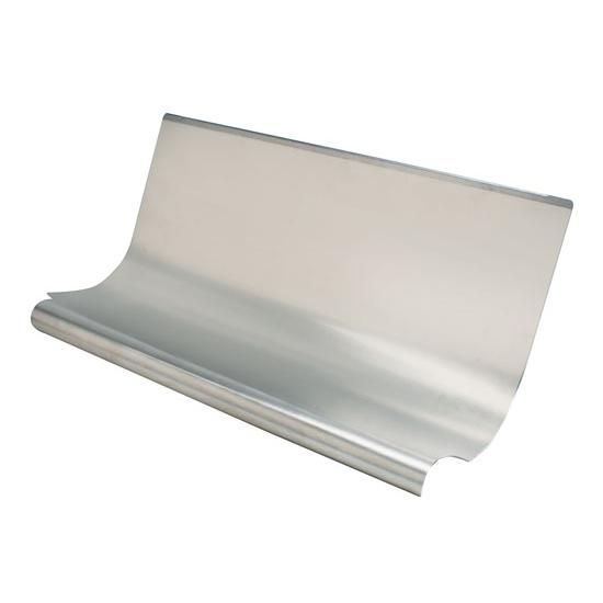 Aluminum Air Scoops : Speedway aluminum radiator air scoop standard chassis