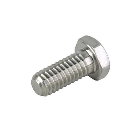 Tru-Lite Titanium Bolt, 3/8-16 Coarse Thread, 1 Inch Long, 9/16 Inch Hex Head