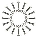 Tru-Lite 16 Piece Titanium Bead Lock Bolt Kit
