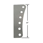 Garage Sale - AFCO 6 Hole Steel Mounting Plate - 1/2