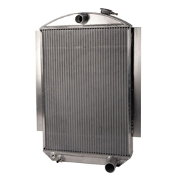 AFCO 1937 and 1939 Chevy Aluminum Radiator, Chevy Engine