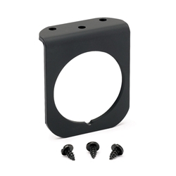 Auto Meter 2236 2 Inch Gauge 1-Hole Panel Mount, Black, Aluminum