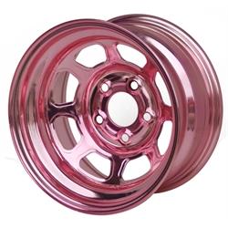 Aero 56-985040PIN 56 Series 15x8 Wheel, Spun, 5 on 5 Inch, 4 Inch BS