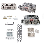 Edelbrock 2065 RPM Dual-Quad Manifold Carb Kit for Big Block Chevy w/ Oval Ports