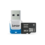 GoPro 32GB Lexar Micro SDHC Memory Card for HERO3, Class 10
