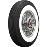 Coker 670R15 American Classic Bias-Look Radial 2.75 In White Wall Tire