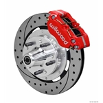 Wilwood 140-13344-DR DP-DB 12.19 Inch Front Brake Kit, 1965-69 Mustang