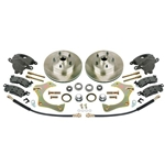 Mustang II Complete 11 Inch Front Disc Brake Kit, 5 on 4-3/4 Granada Rotor