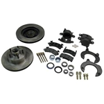 Mustang II Complete 11 Inch Front Disc Brake Kit, 5 on 4-3/4 Granada Type Rotor
