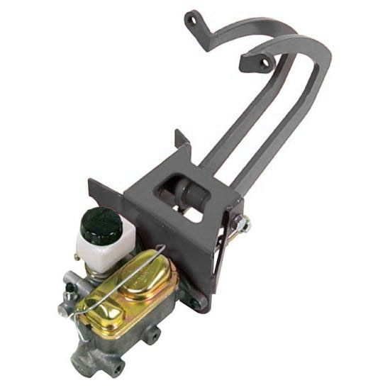 53 56 Ford F100 Power Brake Master Cylinder Booster Kit Under Autos