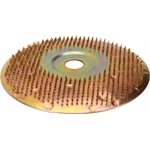 Tire Grinding Disc, 7 Inch Nail Head