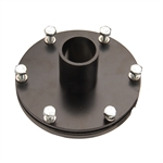 1-1/2 Inch Aluminum Remote Fuel Cell Filler Neck Flange Assembly