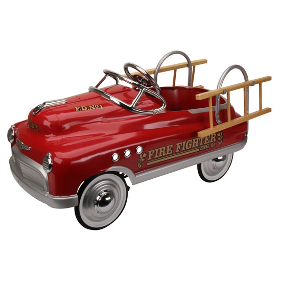 Comet style pedal car fire truck edition ebay for Speedway motors used cars