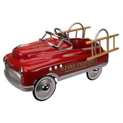 Comet Style Pedal Car, Fire Truck Edition