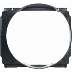 OER 3938613 Replacement Fan Shroud for 1969-1972 Chevy Nova, Black