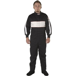 Garage Sale - G-Force 105 One Piece Racing Suit, Black, Size XL