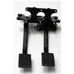 Garage Sale - Wilwood 340-3950 Dual Brake/Clutch Pedal Assembly, Fwd. Swing Mount