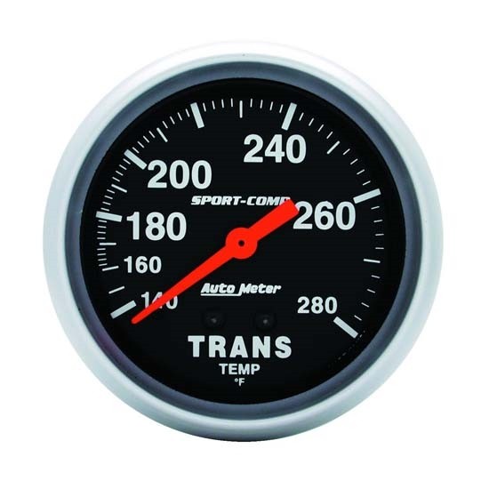 Auto Meter 3451 Sport-Comp Mechanical Transmission Temperature Gauge