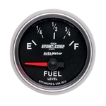 Auto Meter 3613 Sport-Comp II Air-Core Fuel Level Gauge, 2-1/16 Inch