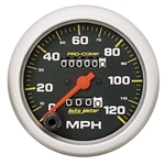 Auto Meter 5152 Pro-Comp Mechanical Speedometer, 120 MPH, 3-3/8 Inch