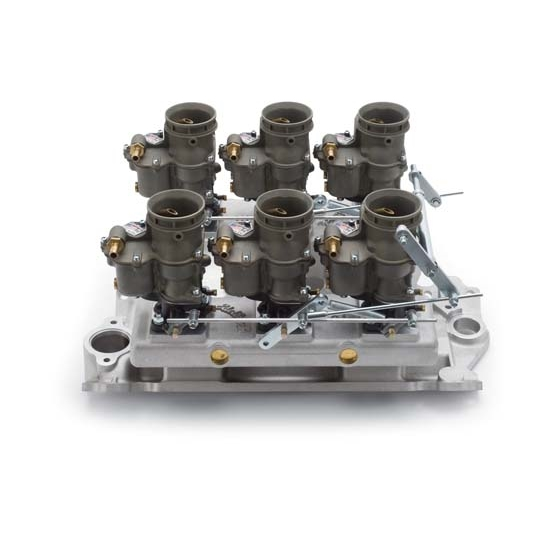 Edelbrock 2018 Vintage Intake Manifold/Carburetor Kit