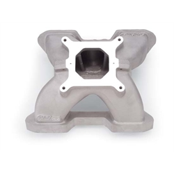 Edelbrock 28469 Victor 2 Piece Intake Manifold, Small Block Chevy