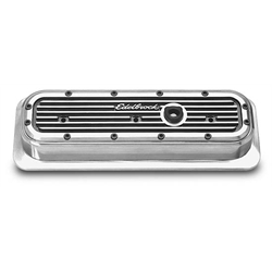Edelbrock 4252 Elite Series ALuminum Valve Cover Set, Chevy 4.3L V6