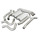 GM FLOWMASTER AMERICAN THUNDER DUAL EXHAUST, 3""